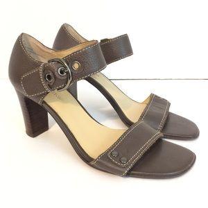 Worthington Leather Sandal Heels 6.5M